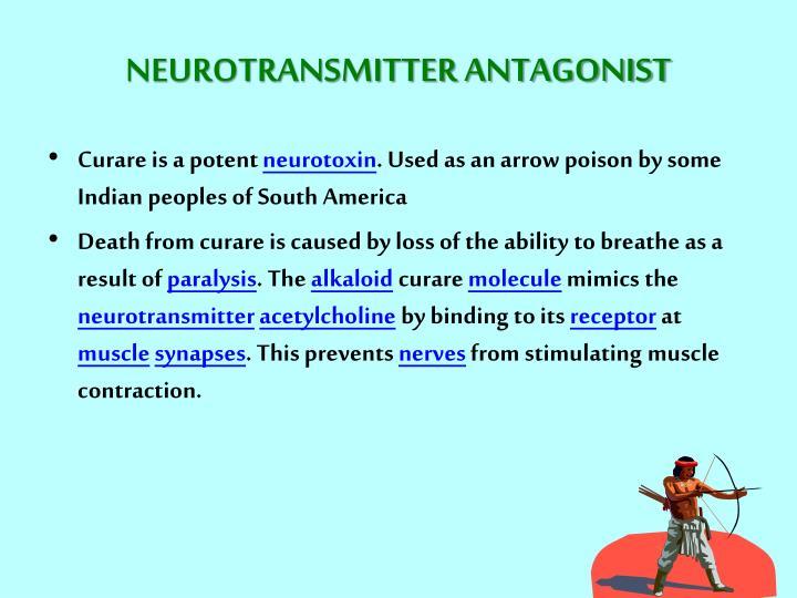 NEUROTRANSMITTER ANTAGONIST
