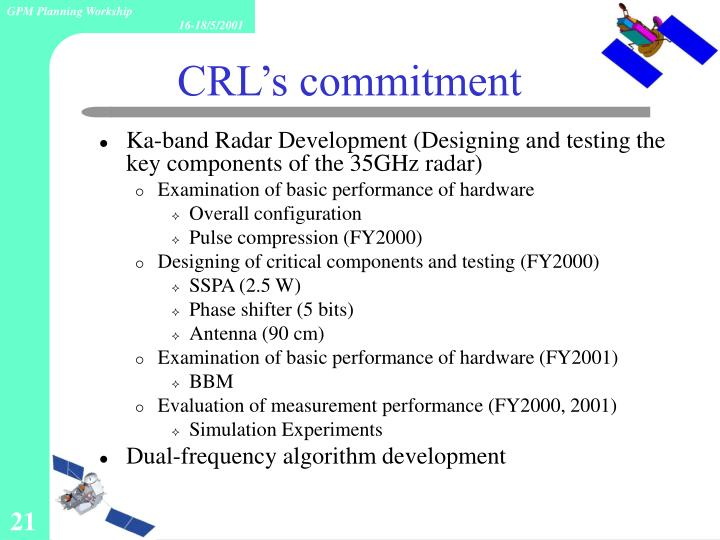 Ka-band Radar Development (Designing and testing the key components of the 35GHz radar)