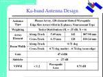 ka band antenna design