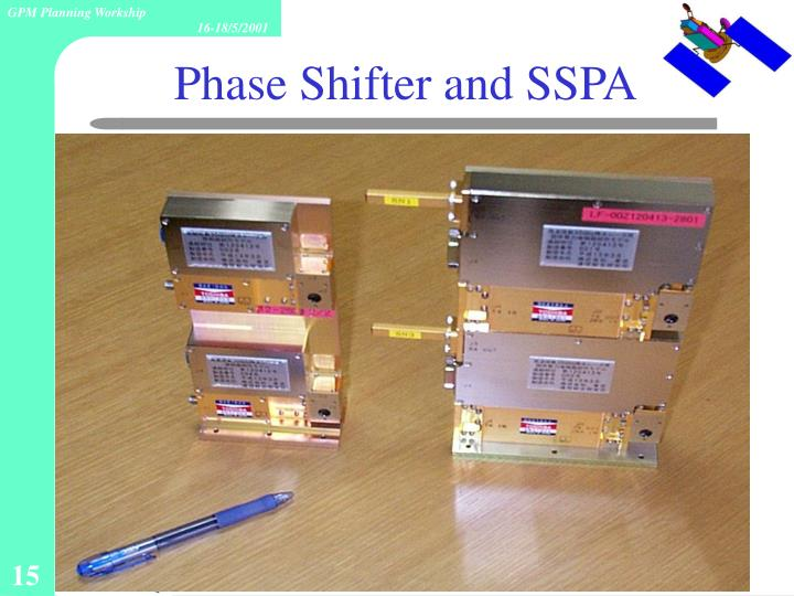 Phase Shifter and SSPA