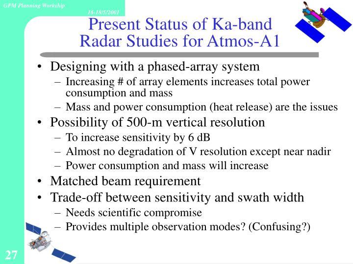 Present Status of Ka-band