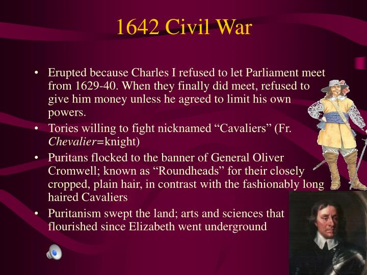 1642 Civil War