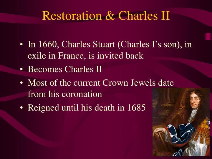 Restoration & Charles II