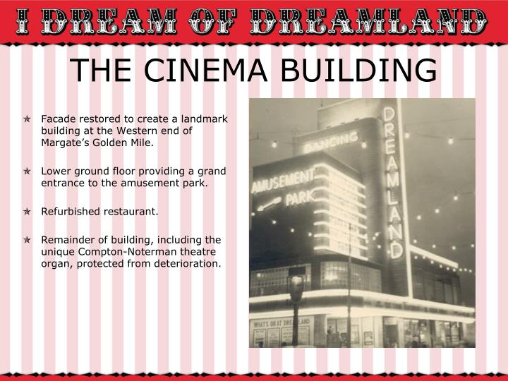 THE CINEMA BUILDING
