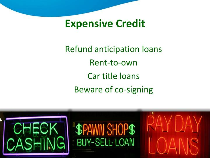 Expensive Credit