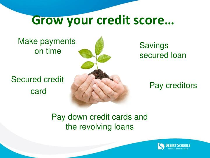 Grow your credit score…