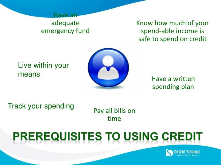 Know how much of your spend-able income is safe to spend on credit