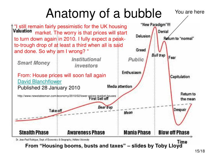 Anatomy of a bubble