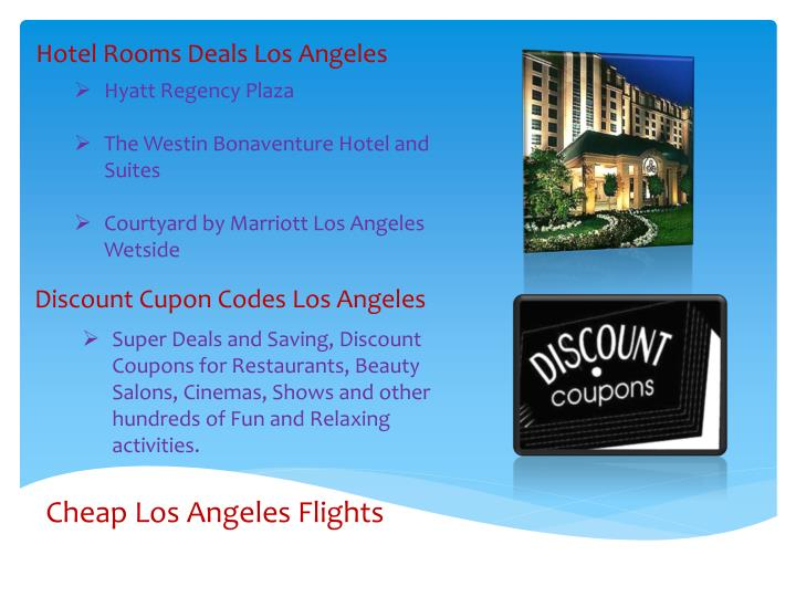 Hotel Rooms Deals Los Angeles