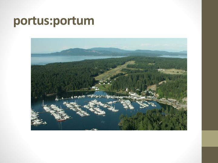 portus:portum