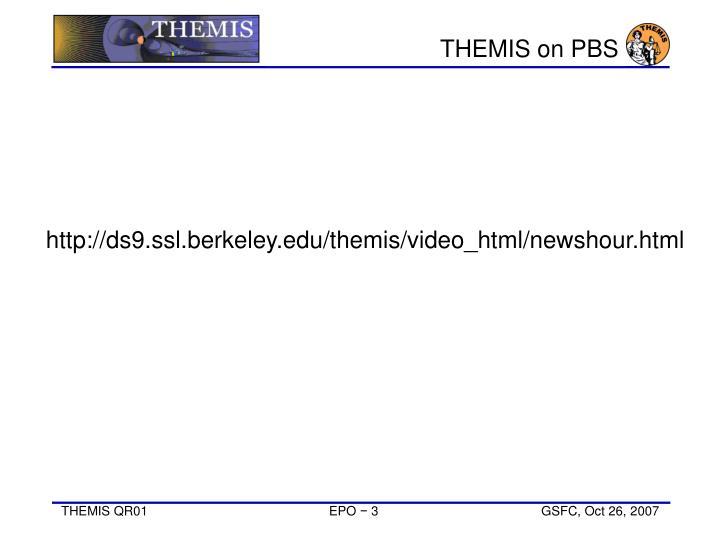 THEMIS on PBS