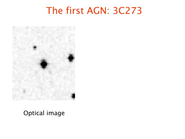 The first AGN: 3C273