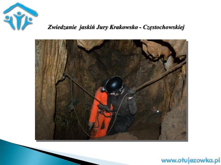 Zwiedzanie  jaskiń Jury Krakowsko - Częstochowskiej
