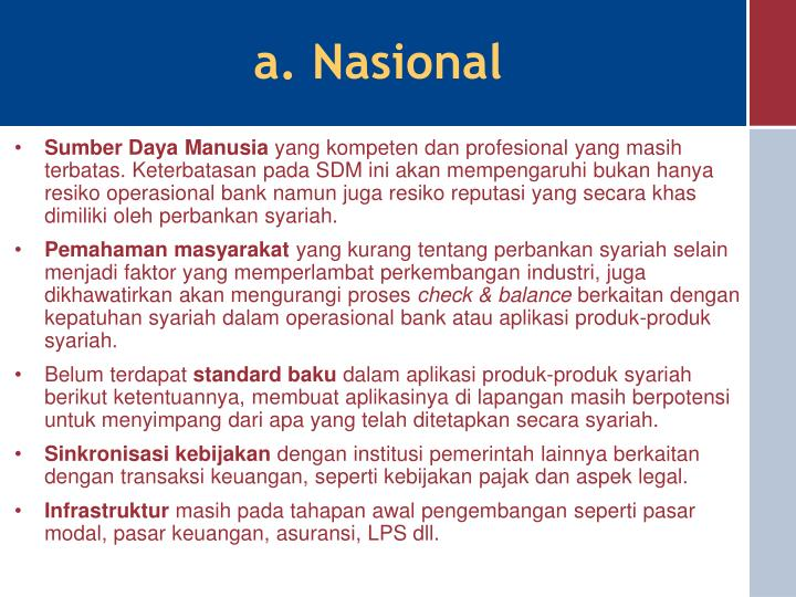 a. Nasional