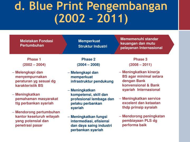 d. Blue Print