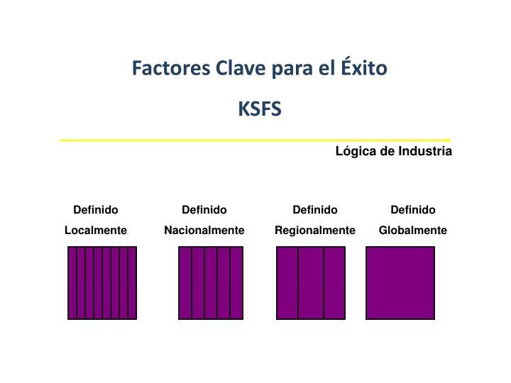 Factores Clave para el Éxito