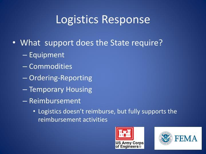 Logistics Response
