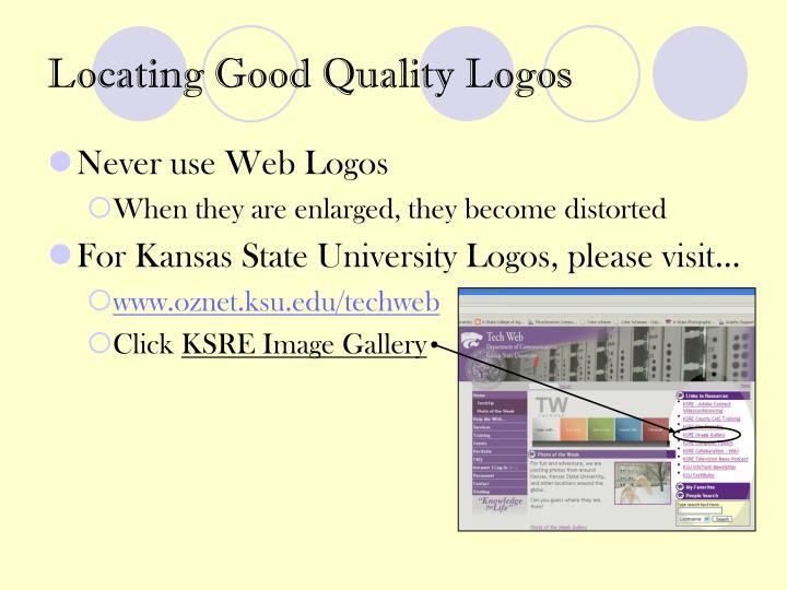 Locating Good Quality Logos
