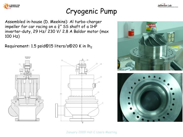 Cryogenic Pump