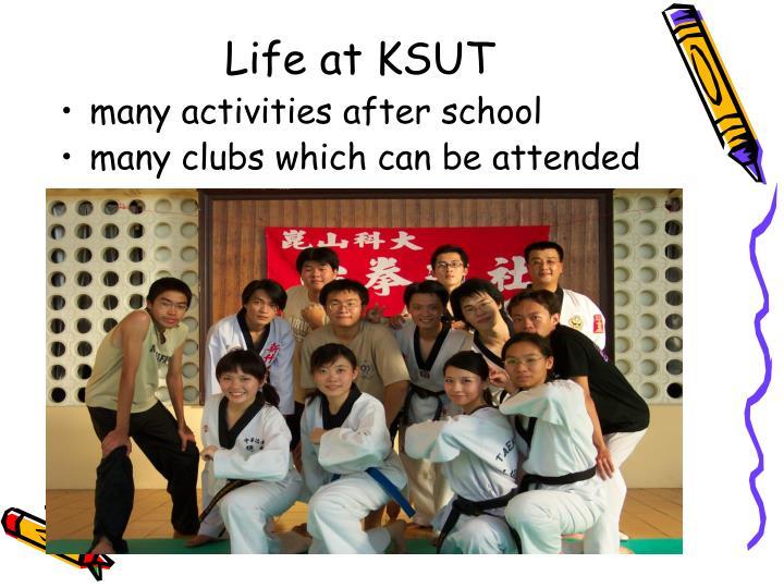 Life at KSUT