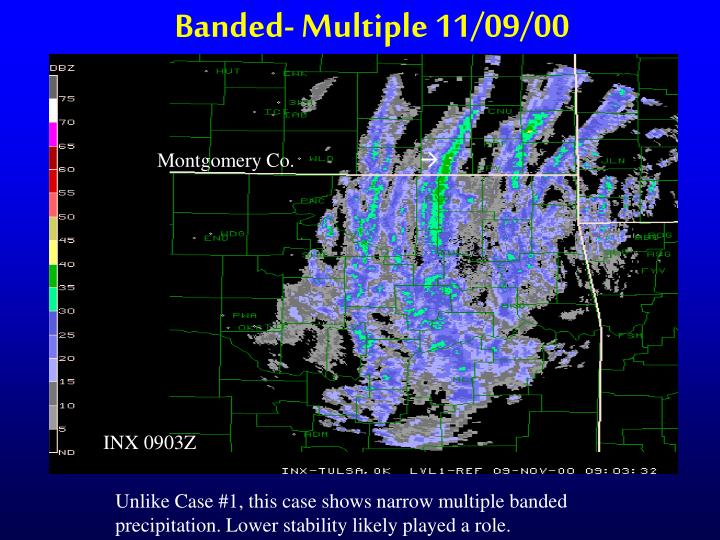 Banded- Multiple 11/09/00