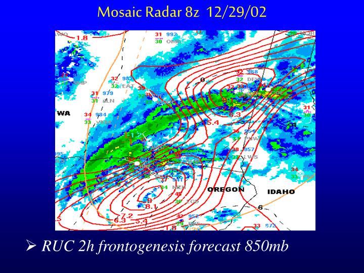 Mosaic Radar 8z  12/29/02