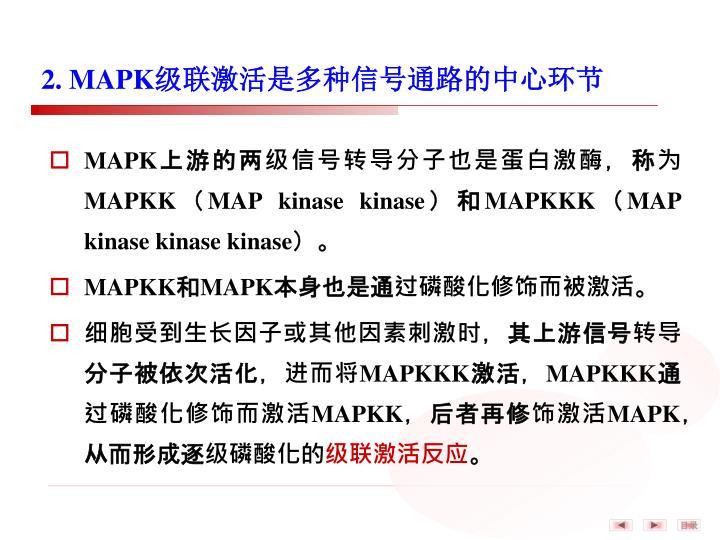 2. MAPK