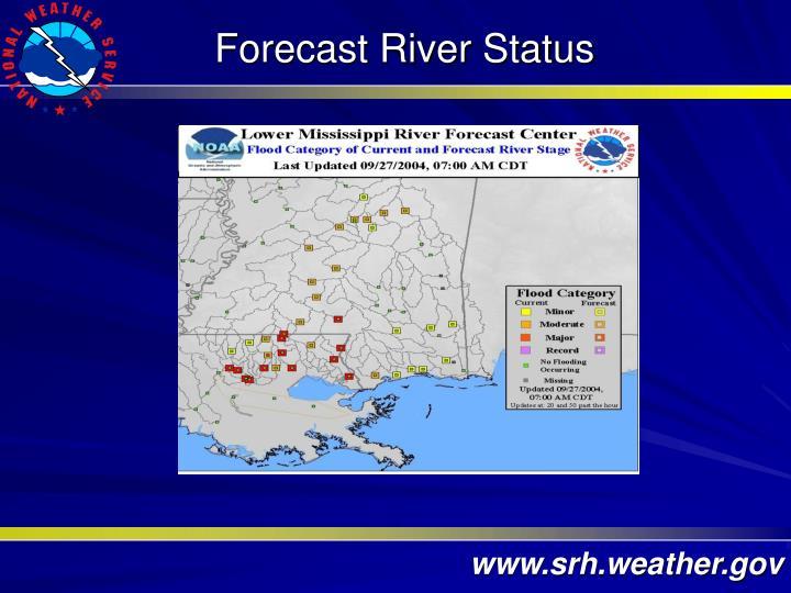 Forecast River Status