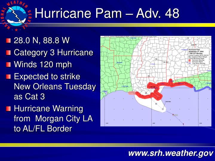 Hurricane Pam – Adv. 48