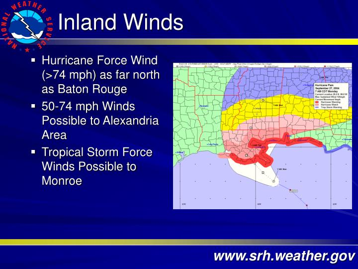 Inland Winds