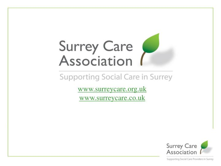 www.surreycare.org.uk