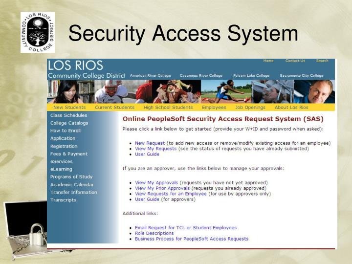 Security Access System
