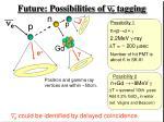future possibilities of n e tagging