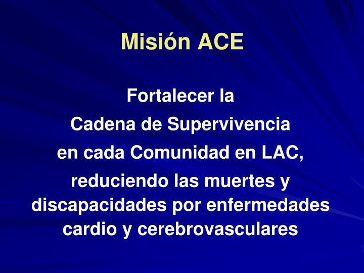 Misión ACE