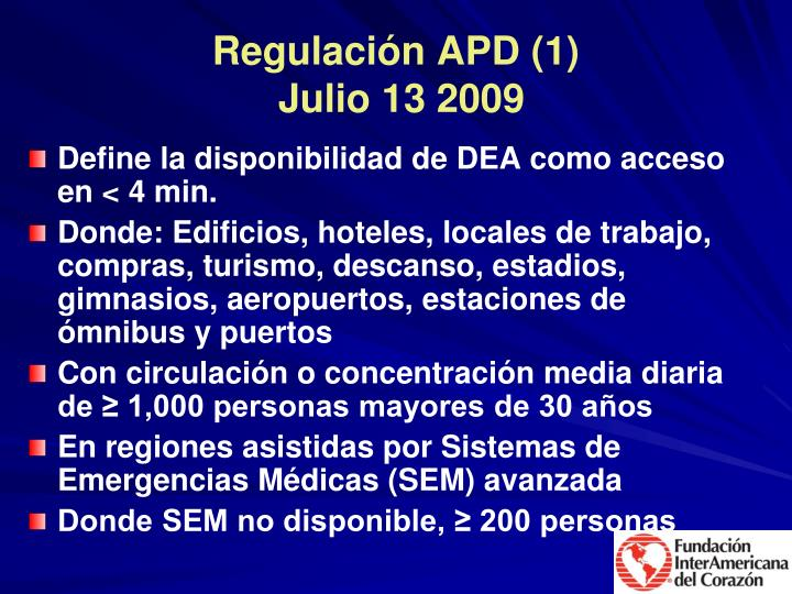 Regulación APD (1)