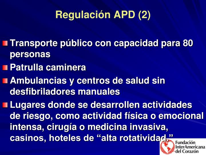 Regulación APD (2)