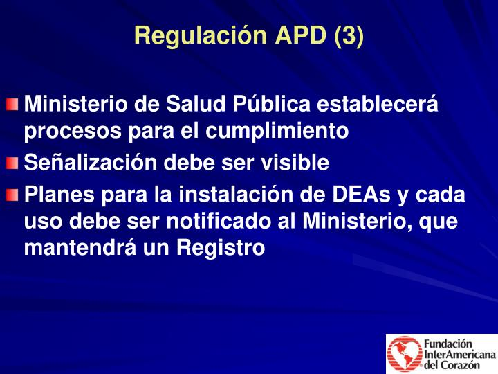 Regulación APD (3)