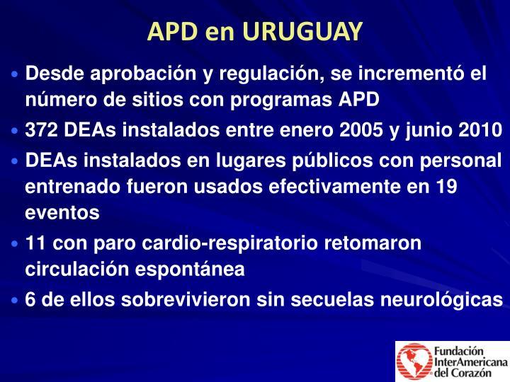 APD en URUGUAY