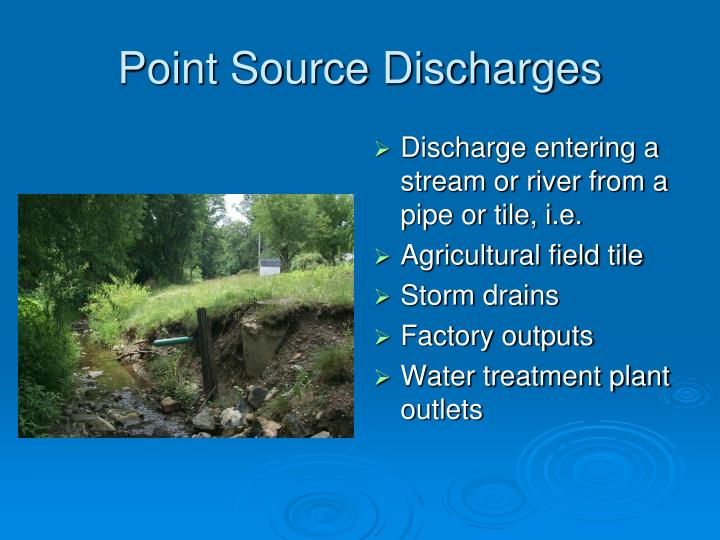 Point Source Discharges