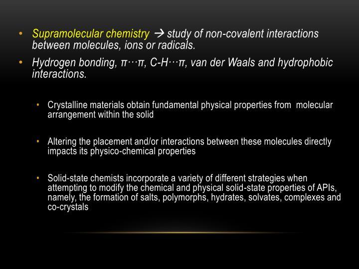 Supramolecular