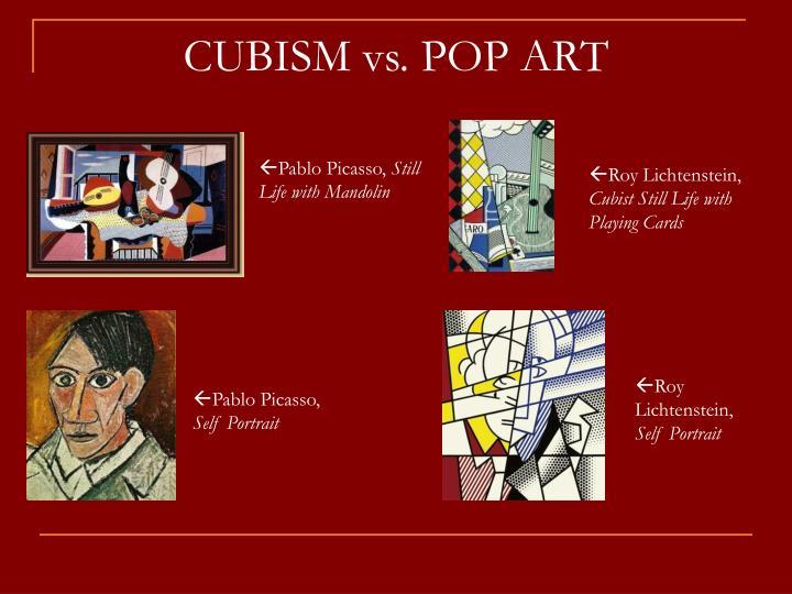 CUBISM vs. POP ART