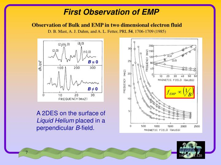 First Observation of EMP