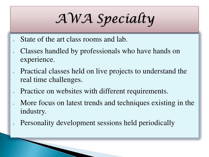 AWA Specialty