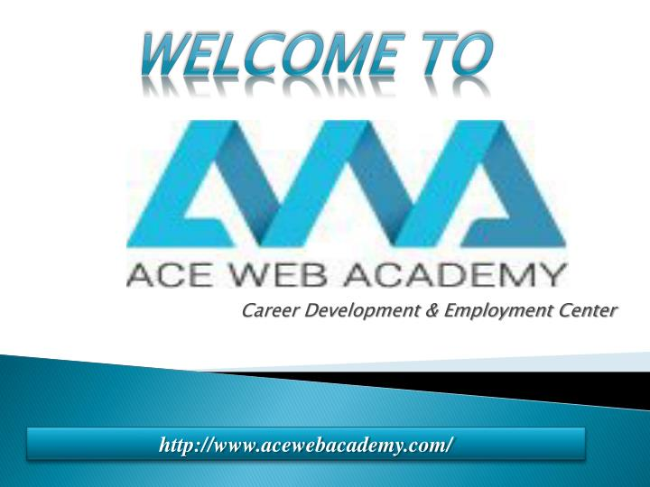 Career development employment center