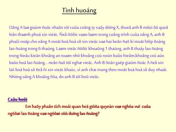 Tnh huong
