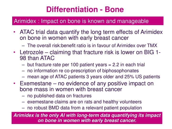 Differentiation - Bone