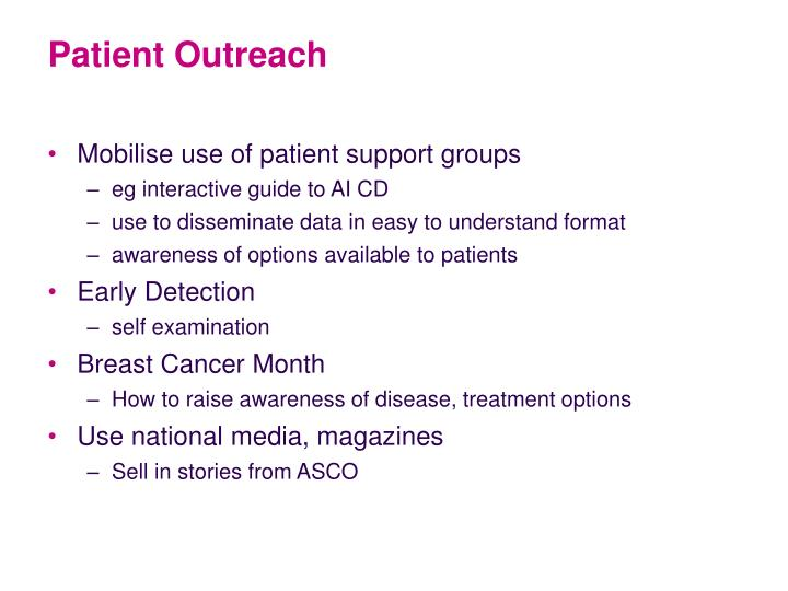 Patient Outreach