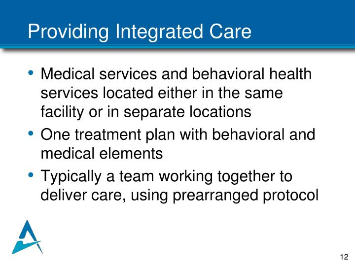 Providing Integrated Care