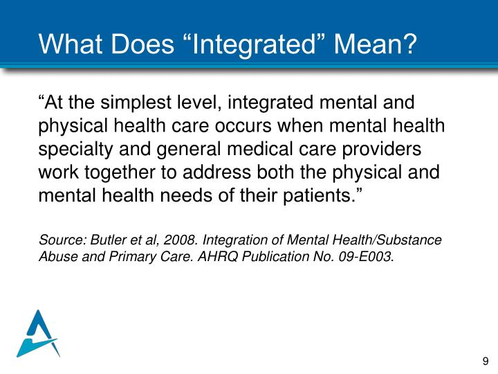 """What Does """"Integrated"""" Mean?"""