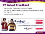 bt yahoo broadband